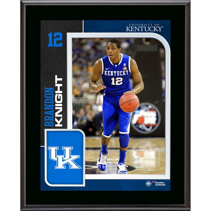 "Brandon Knight Kentucky Wildcats Fanatics Authentic 10.5"" x 13"" Sublimated Player Plaque - $23.99"