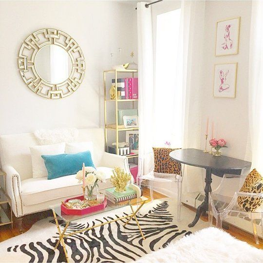 Chic Apartment Living Room Ideas