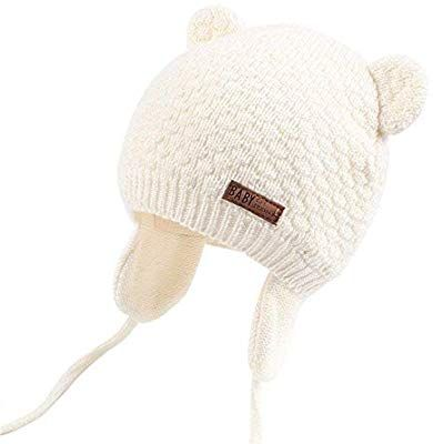b49b0dfbc46 Amazon.com  Little Kids Solid Color Winter Warm Hat
