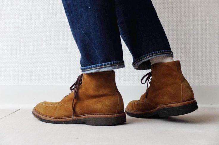 いいね!167件、コメント2件 ― Jumpei Sekiさん(@sekijumpei)のInstagramアカウント: 「Alden suede indy boots. #alden #indyboots #aldenindy」