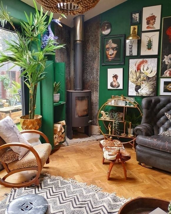 99 Popular Eclectic Interior Design Ideas To Inspire You Wall