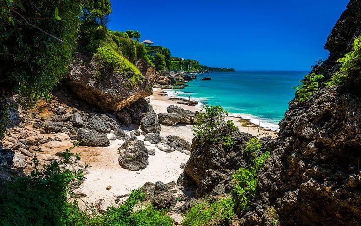 Dzika plaża na Bali