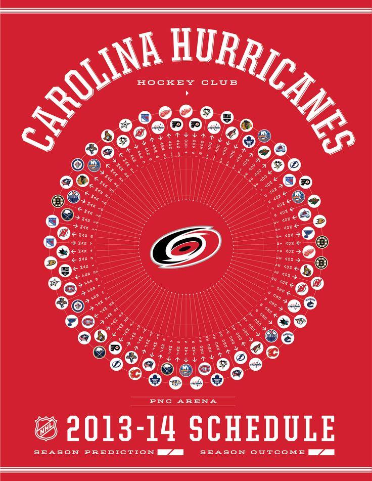 Carolina Hurricanes 2013-14 Schedule