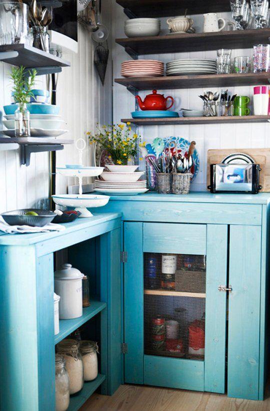 A Colorful Icelandic Cottage Kitchen — Kitchen Spotlight