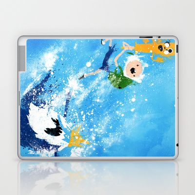 15 best ide chambre thme adventure time images on pinterest adventure time battle time laptop ipad skin by melissa smith 2500 voltagebd Images