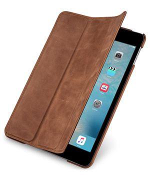 iPad mini 4 Hülle von StilGut Couverture aus Leder in Cognac-Vintage