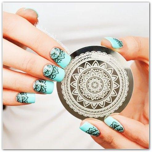 Nail Art Design Flower 693