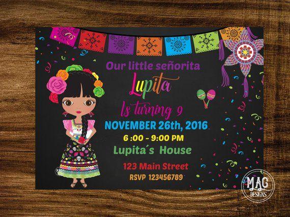 Invitacion Mexicana Mexican Fiesta Invitacion Fiesta