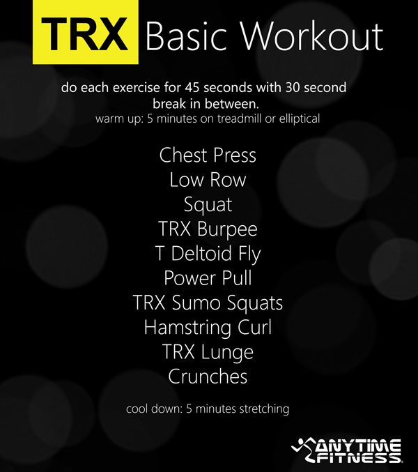TRX BASIC WORKOUT - The Beginners Guide to TRX Suspension Training