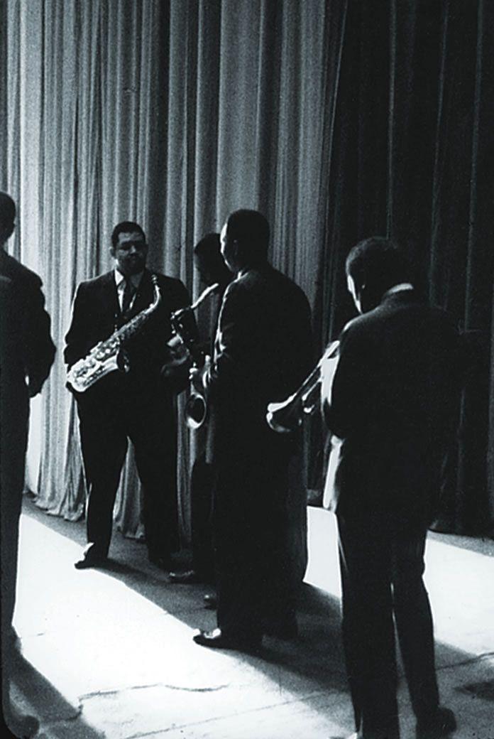 John Coltrane, Paul Chambers, Cannonball Adderley, Jimmy Cobb and Miles Davis, The Chicago Amphitheatre 1957