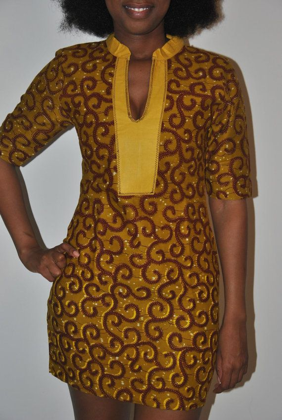 Beautiful authentic African print dress by IONBafricanstyles ~Latest African Fashion, African Prints, African fashion styles, African clothing, Nigerian style, Ghanaian fashion, African women dresses, African Bags, African shoes, Kitenge, Gele, Nigerian fashion, Ankara, Aso okè, Kenté, brocade. ~DK