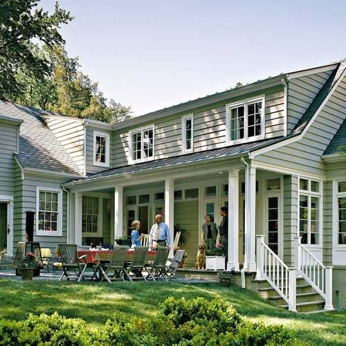 Cape Cod Family Room Addition Porch Patio Excellent Exteriors Lake Cottage Pinterest House Home Additions And