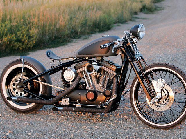 sportster bobber kits | ... 1999 Harley-Davidson Sportster - Led Sled's - Street Chopper Magazine