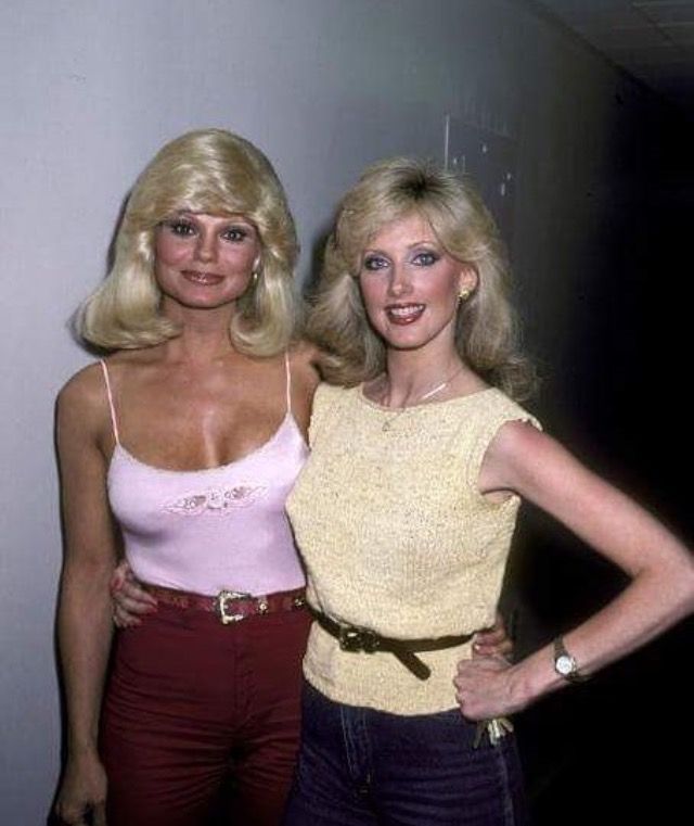 Loni Anderson & Morgan Fairchild