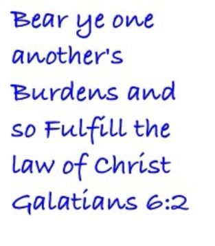 Galatians 6:2 kings James version