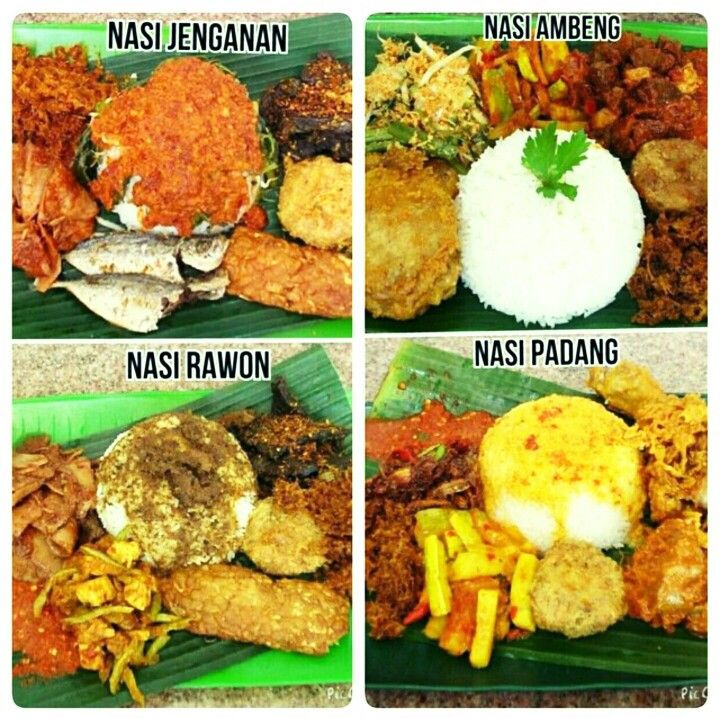 Singapore version of Nasi Jenganan, Nasi Ambeng, Nasi Rawon & Nasi Padang....similar to the ones in it neighbouring countries e.g Malaysia & Indonesia with slight innovations and uniqueness.