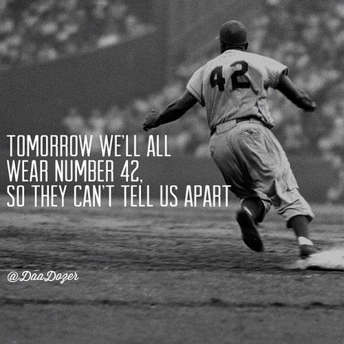... no words. absolutley no words could describe my respect for jackie robinson after i watched this movie. #42