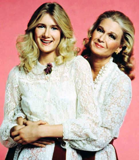 Diane Ladd  her daughter Laura Dern in 1982 ~ ~ ~ didn't know this!