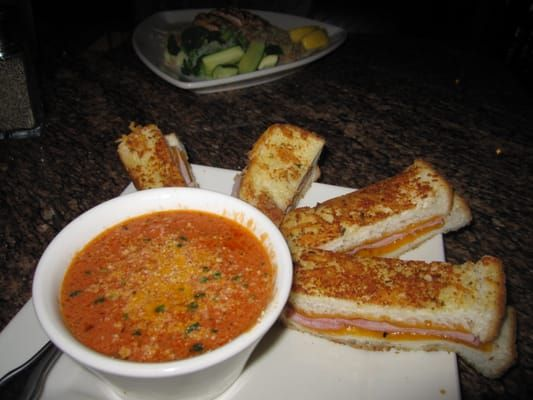 TOMATO BISQUE Brio Tuscan Grille Recipe Makes 8 (1 cup) servings. 1/4 cup ( 1/2 stick) butter 1/4 cup all purpose flour 2 (14 oz....