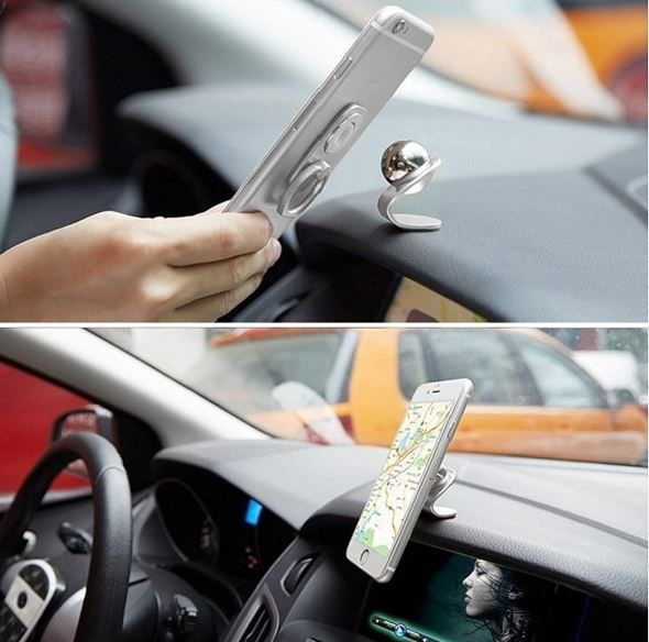 A Stylish Magnetic Phone Holder For Cars