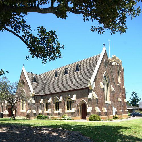 Anglican church, Stockton, Newcastle, Australia by OZinOH