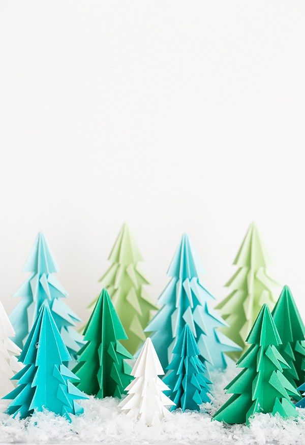 25 best ideas about origami christmas tree on pinterest
