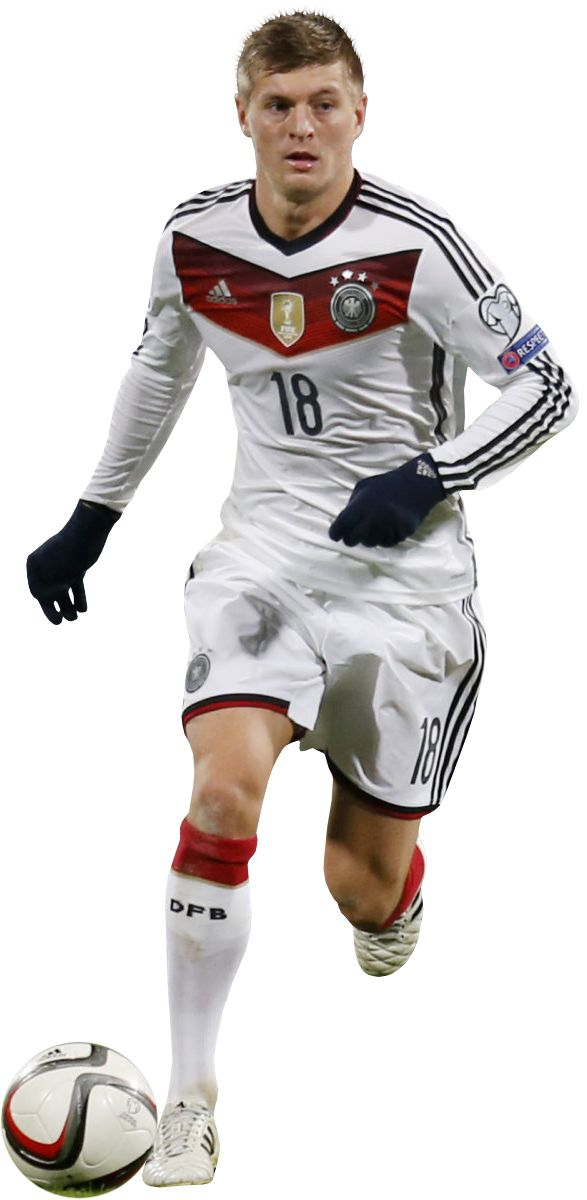 Toni Kroos German National Team Weltmeister