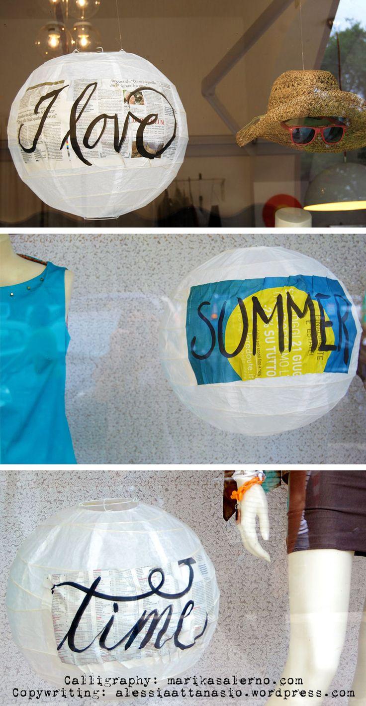 I love summertime | Shoptellers for Giralamoda Lab