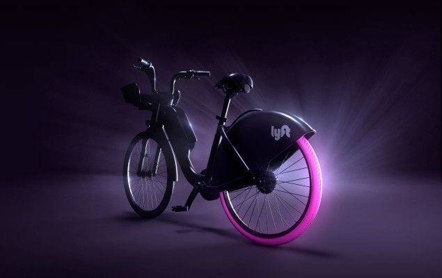 Lyft S Pink Wheeled Shareable Bikes Will Be Available To Rent Soon