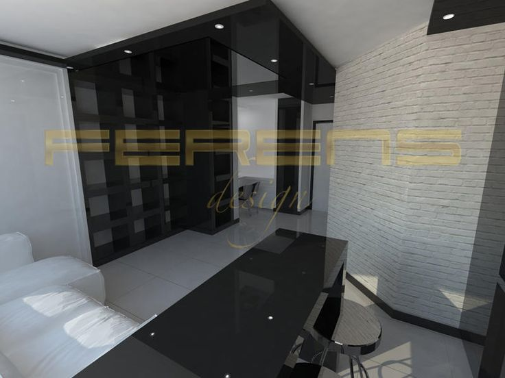 architekt FERENS design joanna ferens - hofman warszawa wizualizacje   MIESZKANIE KOROTYŃSKIEGO 2