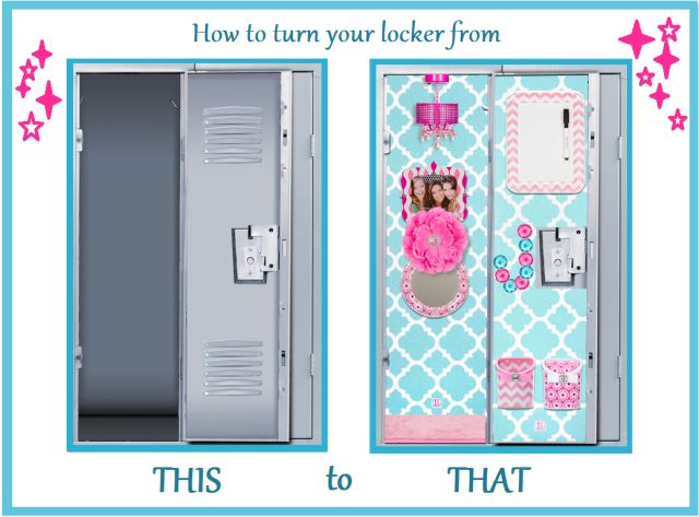 DIY Locker Decorations:  Cool Ways to Decorate Your Locker by myfriendstoldmeto