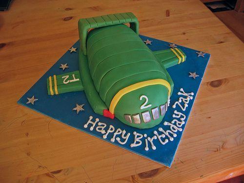 Thunderbird 2 cake