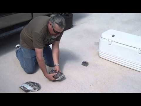 How to properly pack a cooler with dry ice for extended outdoor stays