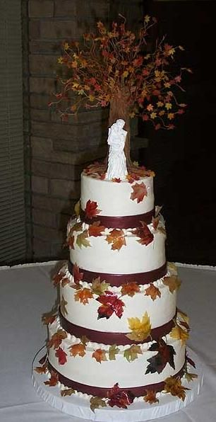 fall wedding cake pictures 1000 ideas about tree wedding cakes on tree 14164