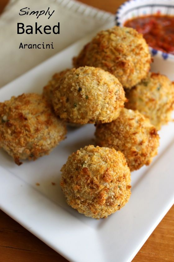 arancini simply baked