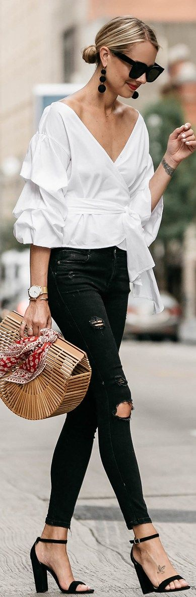 Blogger Street Fashion | 30 Summer Outfit Ideas