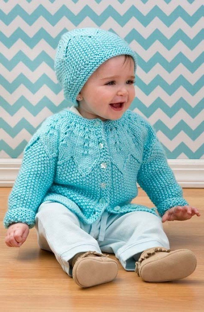 Star Bright Baby Cardigan & Hat in Red Heart Soft Baby Steps - LW3596EN. Discover more Patterns by Red Heart at LoveKnitting. The world's largest range of knitting supplies - we stock patterns, yarn, needles and books from all of your favorite brands.