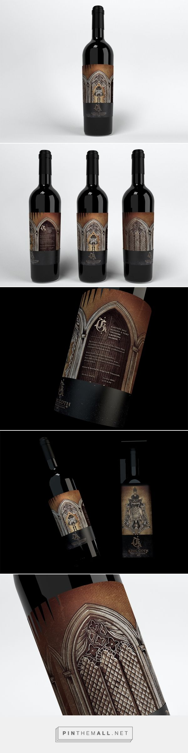 King Goth - Packaging of the World - Creative Package Design Gallery - http://www.packagingoftheworld.com/2017/09/king-goth.html
