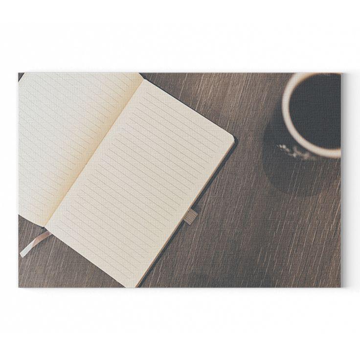 Kávé és notesz