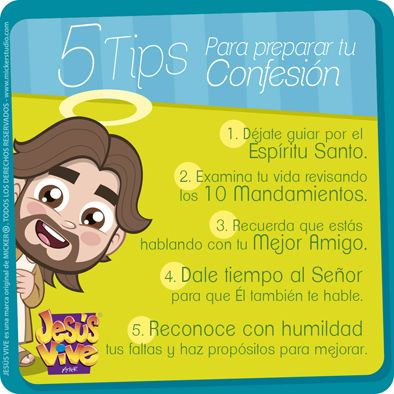 Jesús Vive® – 5 tips para una buena confesión
