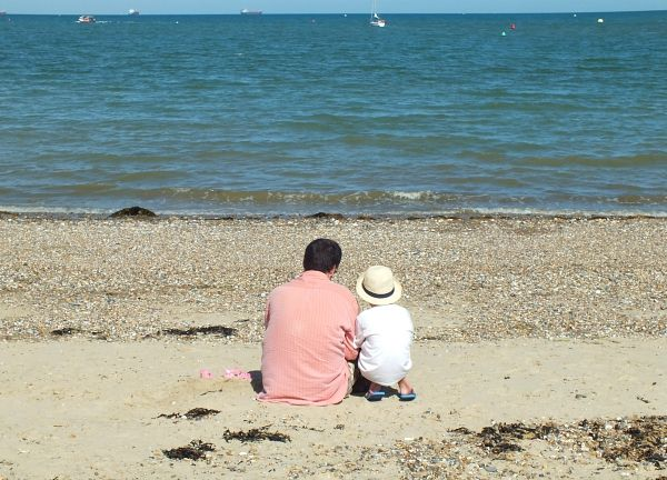 St Helens Beach, at Park Resorts Nodes Point, Isle of Wight