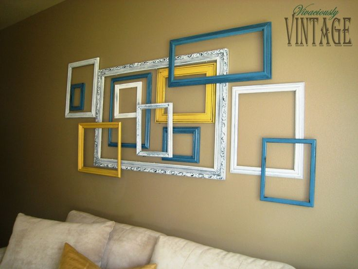 Picture Frame Wall Ideas best 25+ picture frame art ideas on pinterest | country decorative