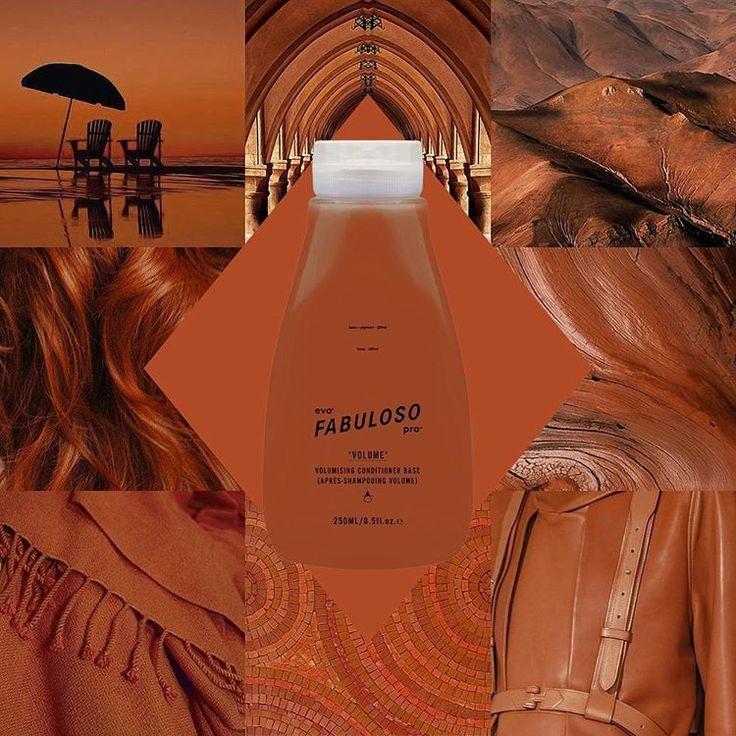 #fabprocombo volcanic caramel - yum. -salon: 10g orange 1g red 7g yellow 2g chocolate -retail: 20g orange 2g red 14g yellow 4g chocolate #fabpro #evohair