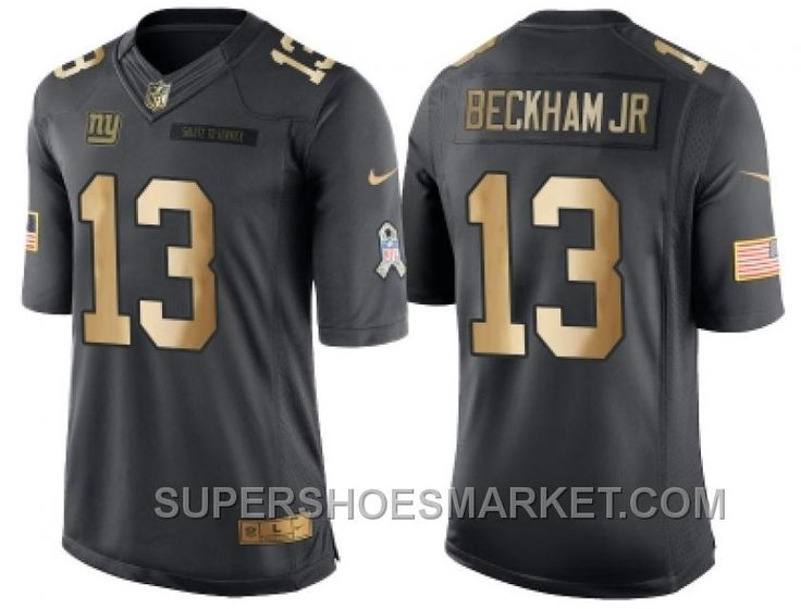 ... Jersey Mens New England Patriots Jimmy Garoppolo Anthracite Gold 2016  Salute To Service Stitched NFL Nike Limited Nike Giants 13 Odell Beckham Jr  ... fa751e78e