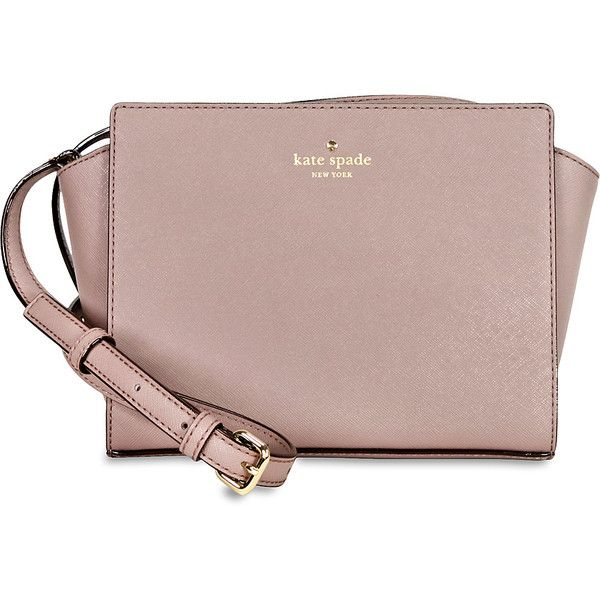 Kate Spade Cedar Street Hayden Crossbody (235 NZD) ❤ liked on Polyvore featuring bags, handbags, shoulder bags, cross body, kate spade, brown cross body purse, kate spade purses and brown cross body handbags