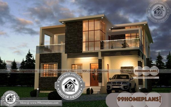 Indian Home Exterior Design 60+ Two Storey House With Terrace Online
