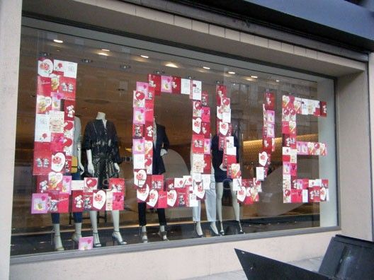 Valentines Day Window Inspiration 2012