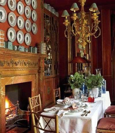 18 Best English Country Dining Rooms Images On Pinterest