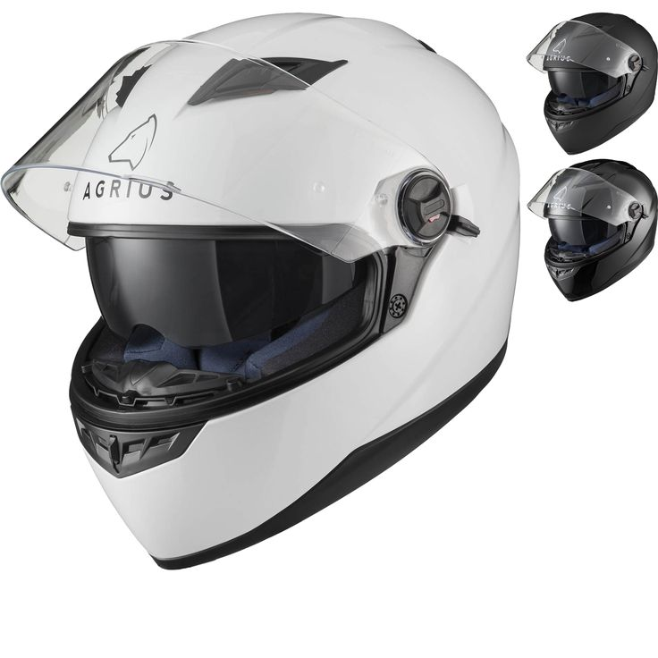 The Agrius Rage SV Motorcycle Helmet is an excellent, low-cost helmet option for any rider. Its a perfect entry level lid and its available in a number of colours and graphics. There are even Pinlock inserts available for it too.
