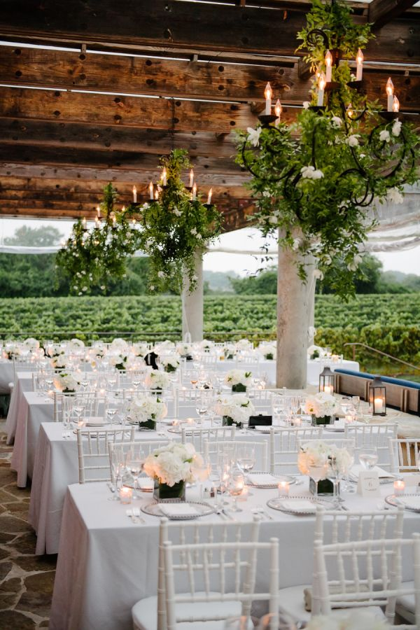 Gorgeous outdoor Hamptons wedding: http://www.stylemepretty.com/new-york-weddings/long-island/the-hamptons/sagaponack/2017/03/17/gorgeous-hamptons-dinner-party-or-wedding-you-decide/ Photography: Brian Hatton - http://brianhattonweddings.com/